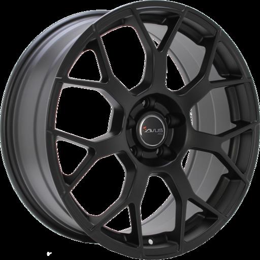 AC-M06 Mat zwart