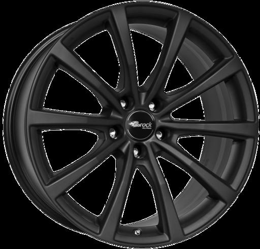 B32 Mat zwart