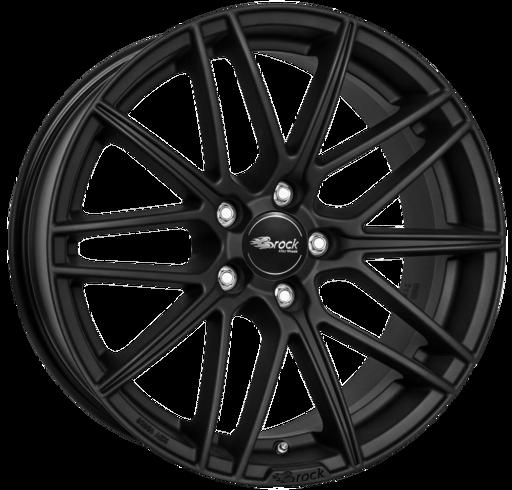 B34 Mat zwart