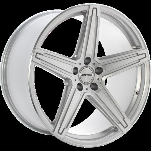 GMP MK1 hliníkové disky 9x20 5x120 ET25 Silver polished